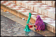 Washing Clothes, Shekhawati, India