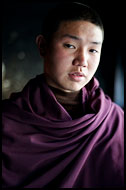 Buddhist Monk, Enchey Monastery, Buddhist Sikkim, India