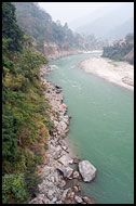 Sikkim River, Buddhist Sikkim, India