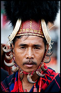 Sangtam Warrior, Nagaland, India