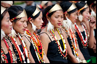 Phom Tribal Women, Nagaland, India