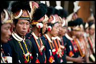 Phom Tribesmen, Nagaland, India
