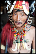 Chang Tribesman, Nagaland, India