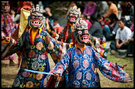 Mask Dancers, Cham Dance, India