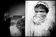 Cotton Factory, Black And White Snaps, India
