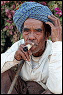 Smoking Cheroot, Best Of, Myanmar (Burma)