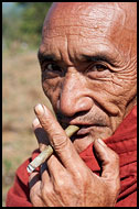 Smoking Monk, Best Of, Myanmar (Burma)