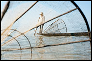 Fisherman On Inle Lake, Best Of, Myanmar (Burma)