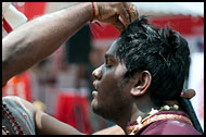 Waking Up From Trance, Thaipusam, Malaysia