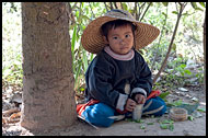 Boy Under Tree, Hsipaw, Myanmar (Burma)