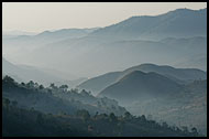 Sunrise In The Hills, Kalaw Trekking, Myanmar (Burma)