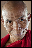 Senior Monk, Mandalay, Myanmar (Burma)