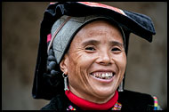 Alo Woman, Tribal Local Market, China