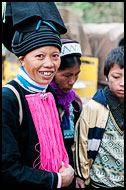 Yao Woman, Tribal Local Market, China
