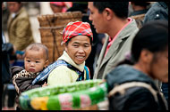 Shopping At Local Market, Tribal Local Market, China
