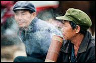 Smoking Pipe, Tribal Local Market, China