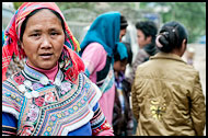 Yi Woman, Tribal Local Market, China