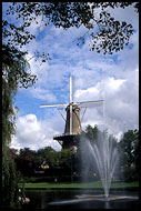 Windmill In Laiden, Best Of Netherlands, Netherlands