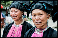Yao Women, Tribal Local Market, China