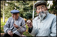 Smoking A Cigarette, Kunming And Shilin, China