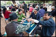 Playing Mahjong, Kunming And Shilin, China