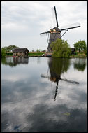 Windmill, Kinderdijk, Netherlands