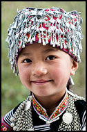 Hani Girl, Yuanyang, China