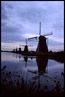 Windmills In Kinderdijk, Best Of Netherlands, Netherlands
