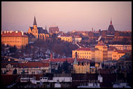 Prague During Sunset, Prague, Czech republic