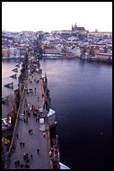Charles Bridge And Prague Castle In The Background, Prague, Czech republic