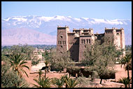 Kasbah Amerhidil And Snow, Skoura, Best Of Marocco, Marocco